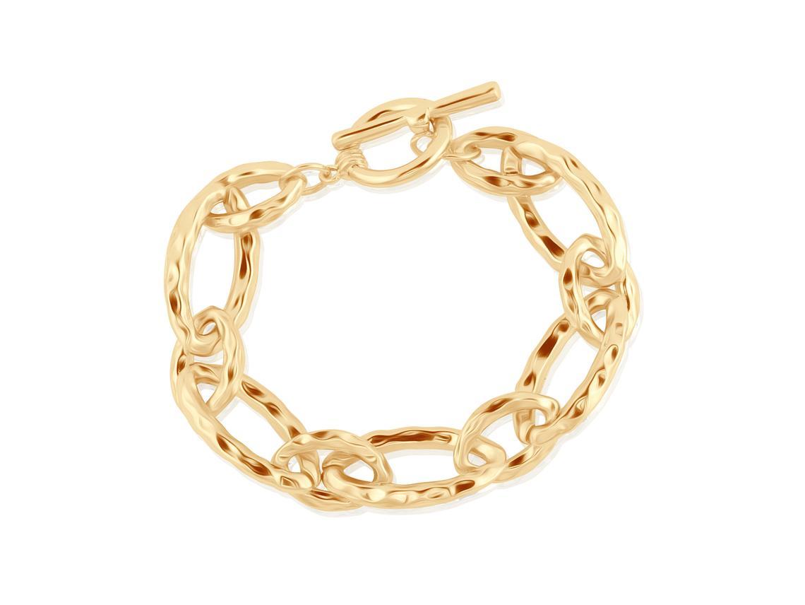 Paulette Statement Chunky Chain Bracelet – Gold