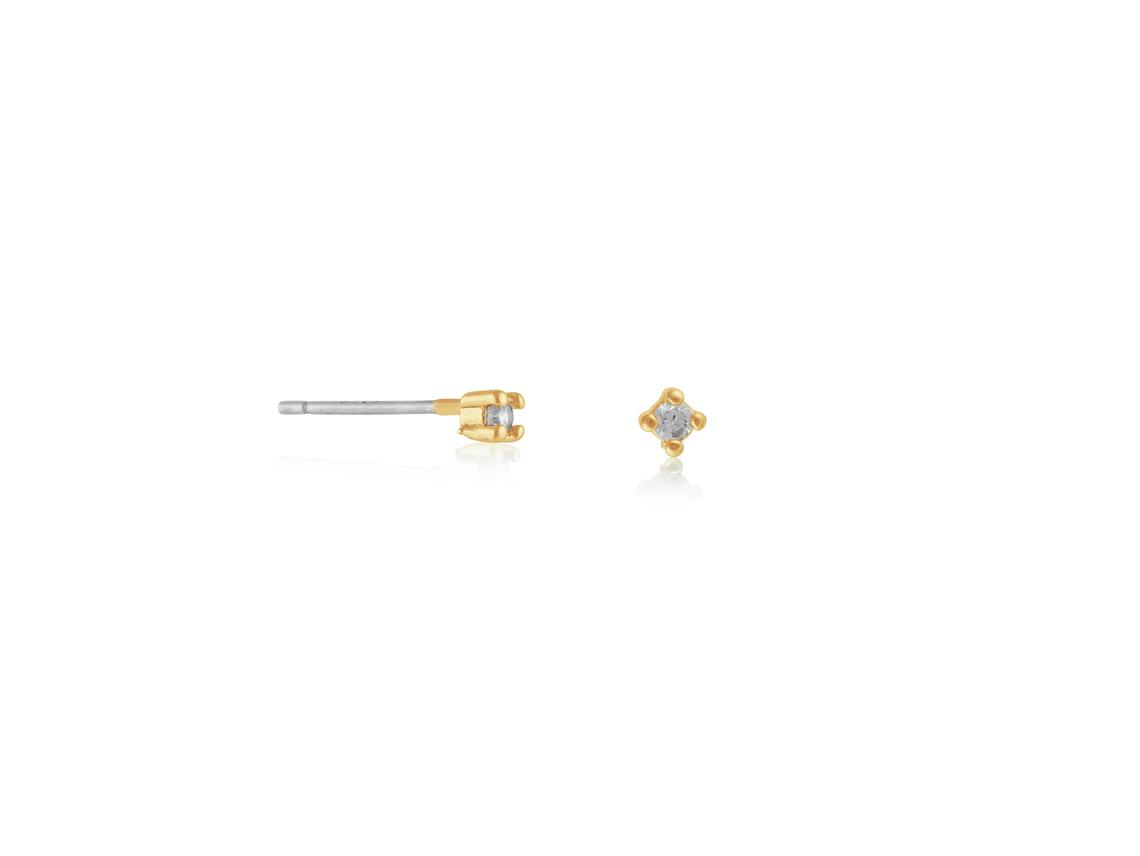 Bernadette Demi Fine Stud Earrings – Gold