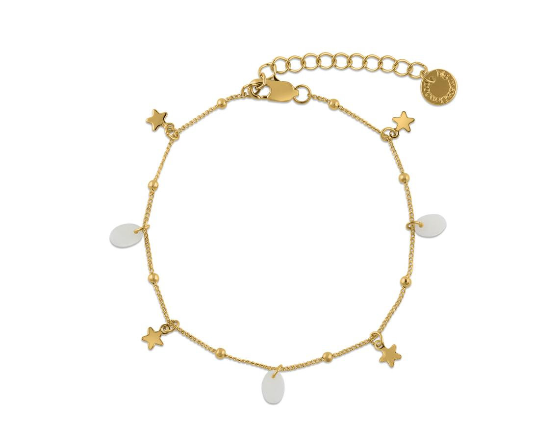 Emilia Star Charm Bracelet – Gold